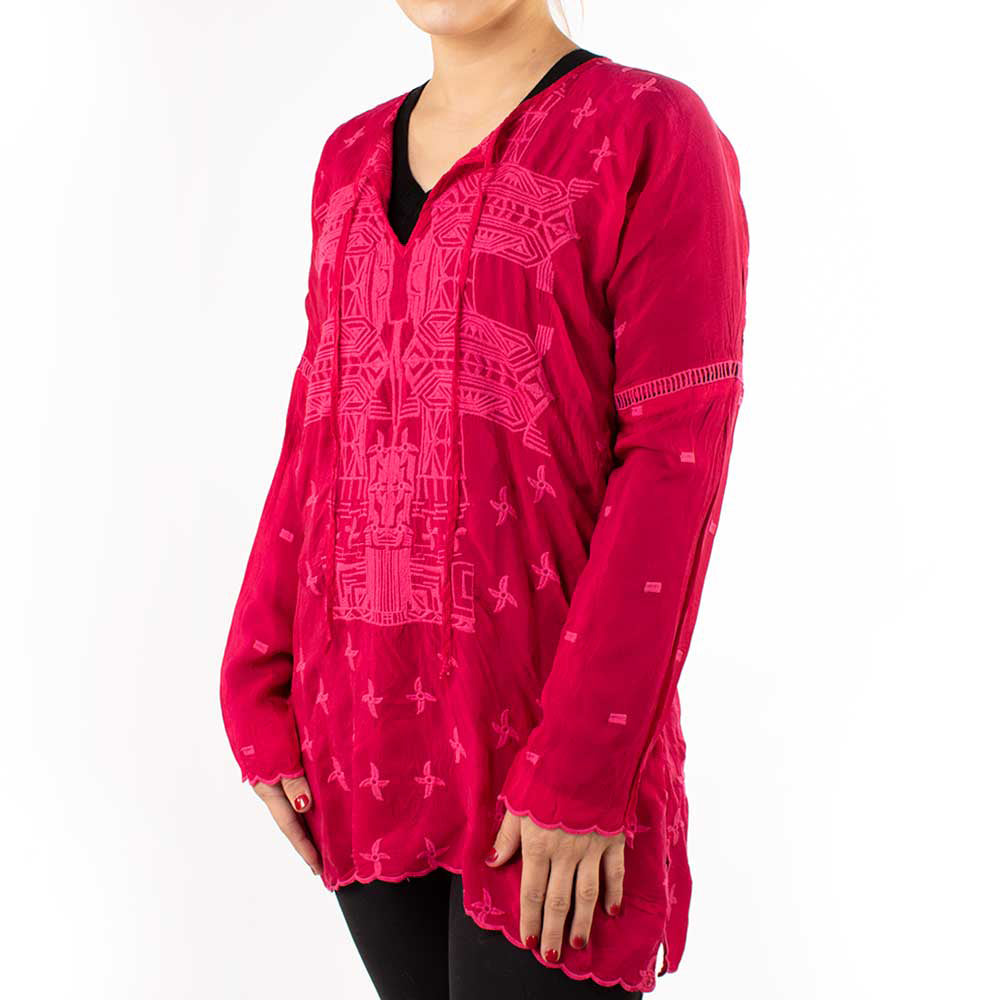 Johnny Was Taya Tunic WOMEN - Clothing - Tops - Tunics JOHNNY WAS COLLECTION Teskeys