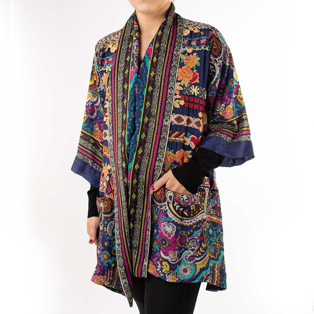 Johnny Was Hanna Kimono WOMEN - Clothing - Sweaters & Cardigans JOHNNY WAS COLLECTION Teskeys