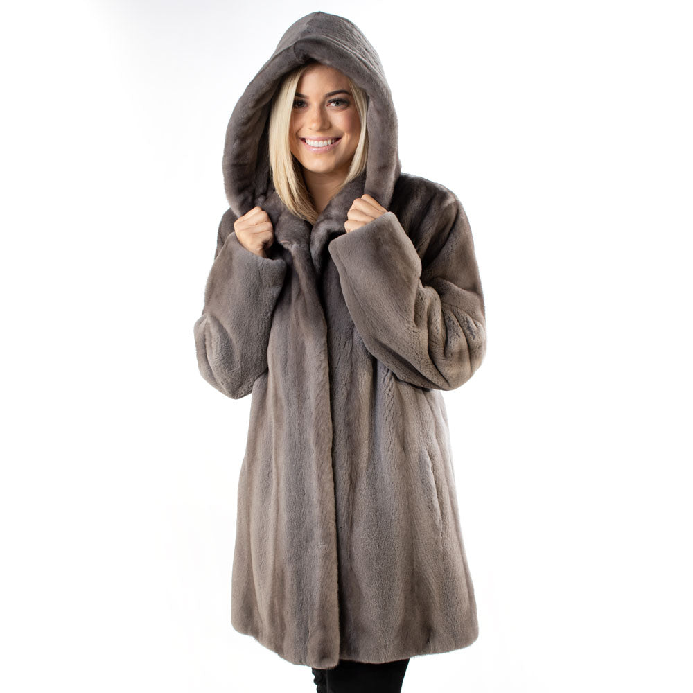 Morris Kaye & Sons Mink Parka WOMEN - Clothing - Outerwear - Jackets MORRIS KAYE & SONS Teskeys