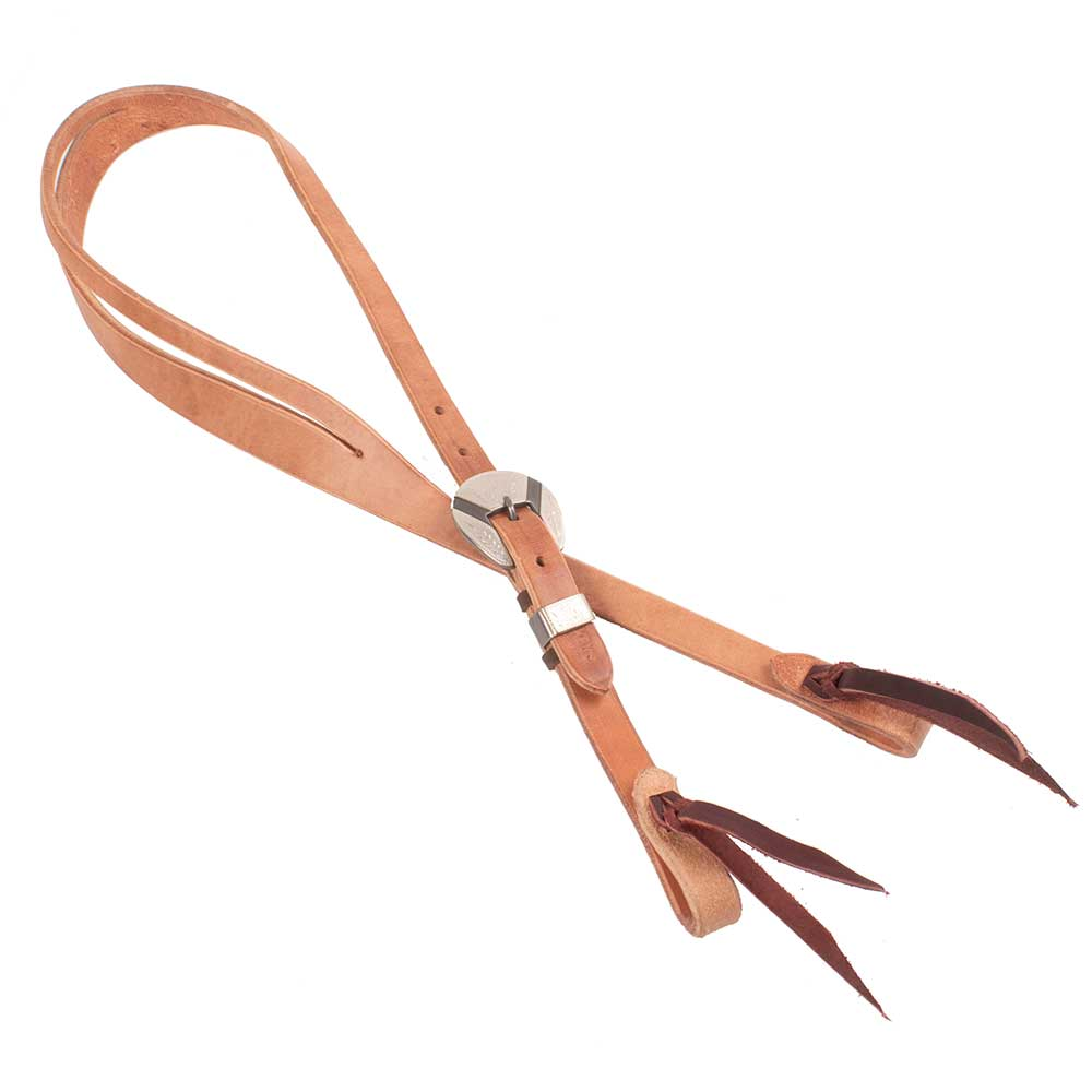 "Teskey's Josh Ownbey Cowboy Line 3/4"" Slit Ear Headstall Tack - Headstalls - One Ear Teskeys Teskeys"