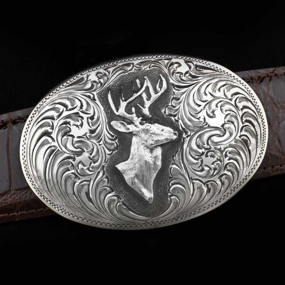 Comstock Heritage Big Buck Buckle ACCESSORIES - Additional Accessories - Buckles COMSTOCK HERITAGE Teskeys
