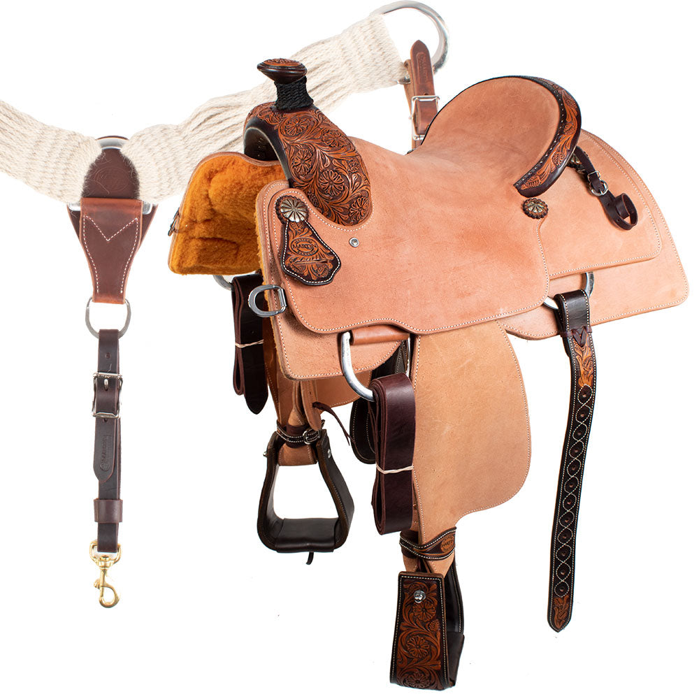 MARTIN SADDLE WITH BREAST COLLAR Saddles - New Saddles - RANCH Martin Saddlery Teskeys