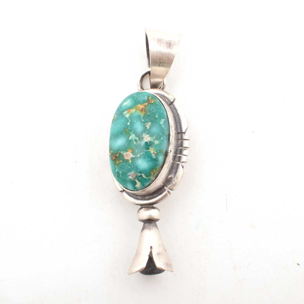 Royston Turquoise Pendant WOMEN - Accessories - Jewelry - Pins & Pendants Shady Lady & Co Teskeys