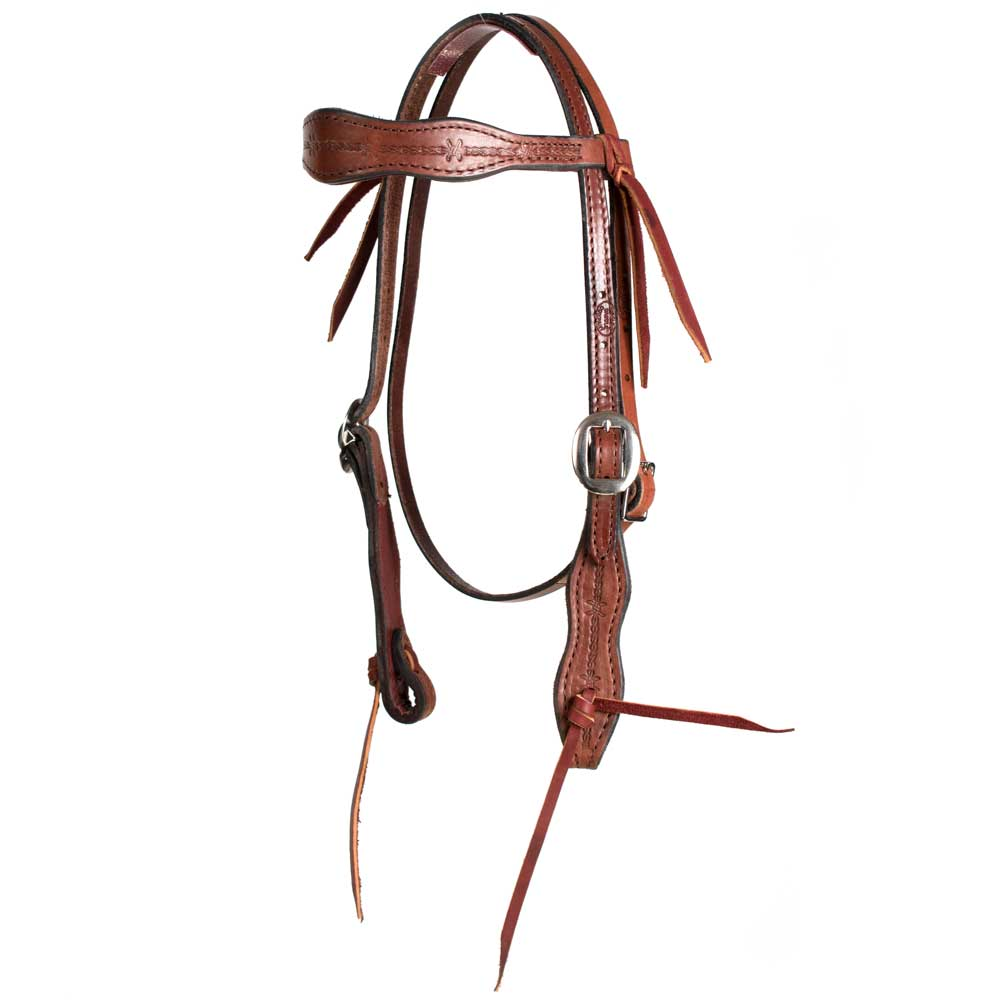 Pony Heavy Oil Browband Headstall Tack - Pony Tack - Headstalls Teskey's Teskeys