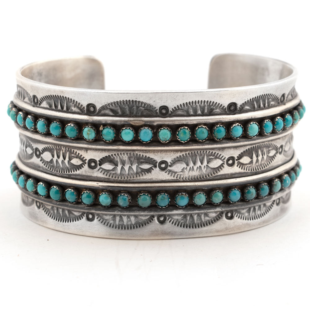 Paul Livingston Carico Lake Cuff WOMEN - Accessories - Jewelry - Bracelets SUNWEST SILVER Teskeys