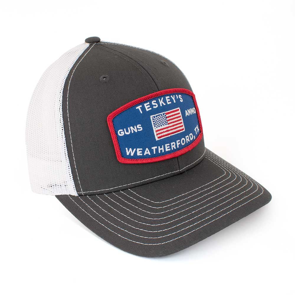 Teskey's G&A Flag Patch Cap TESKEY'S GEAR - Baseball Caps RICHARDSON Teskeys