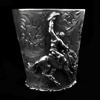 Comstock Heritage Sterling Silver Cowboy Shot Glass HOME & GIFTS - Tabletop + Kitchen - Bar Accessories COMSTOCK HERITAGE Teskeys
