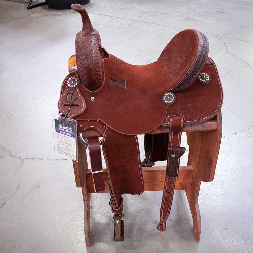 "14"" C3 Jeff Smith Barrel Saddle"
