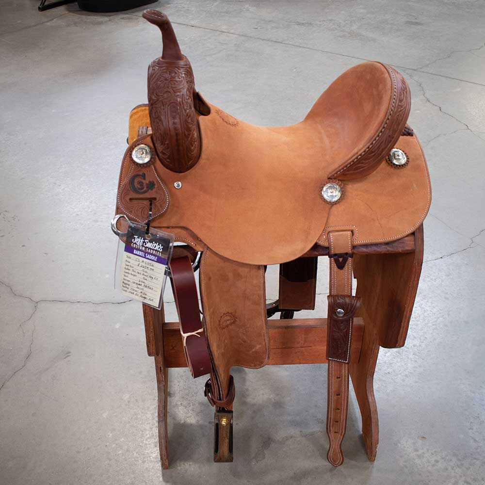 "15"" C3 Jeff Smith Barrel Saddle"