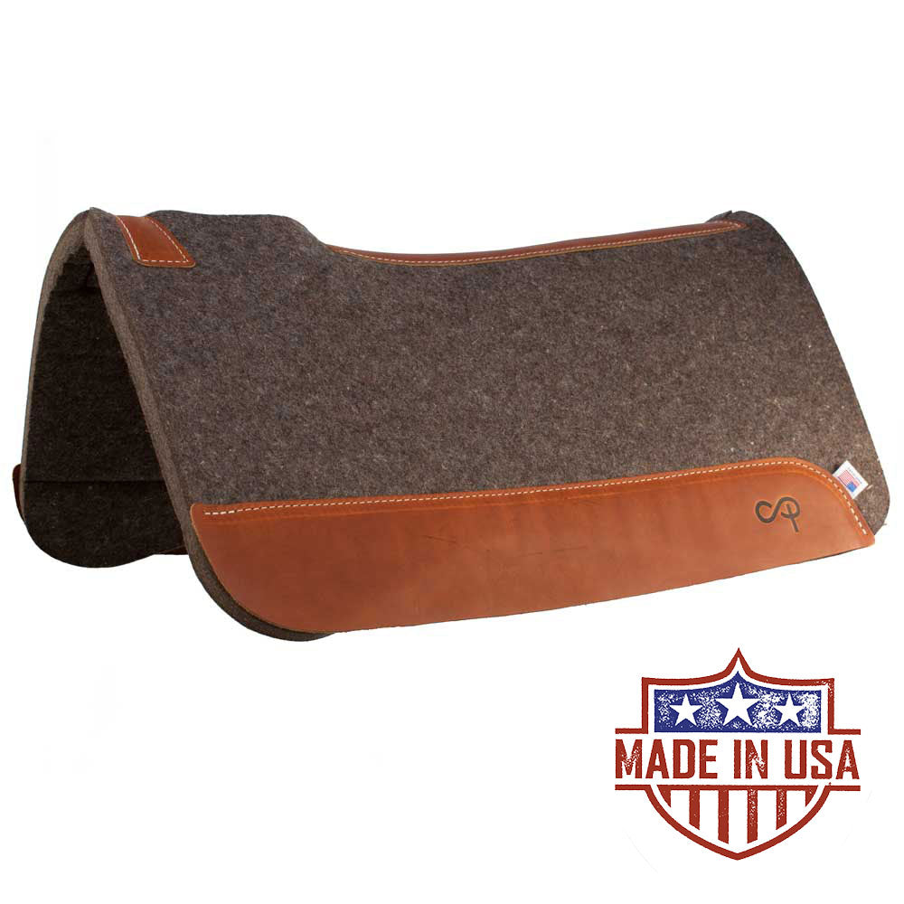 Patrick Smith New Wool Roper Pad Tack - Saddle Pads Patrick Smith Teskeys