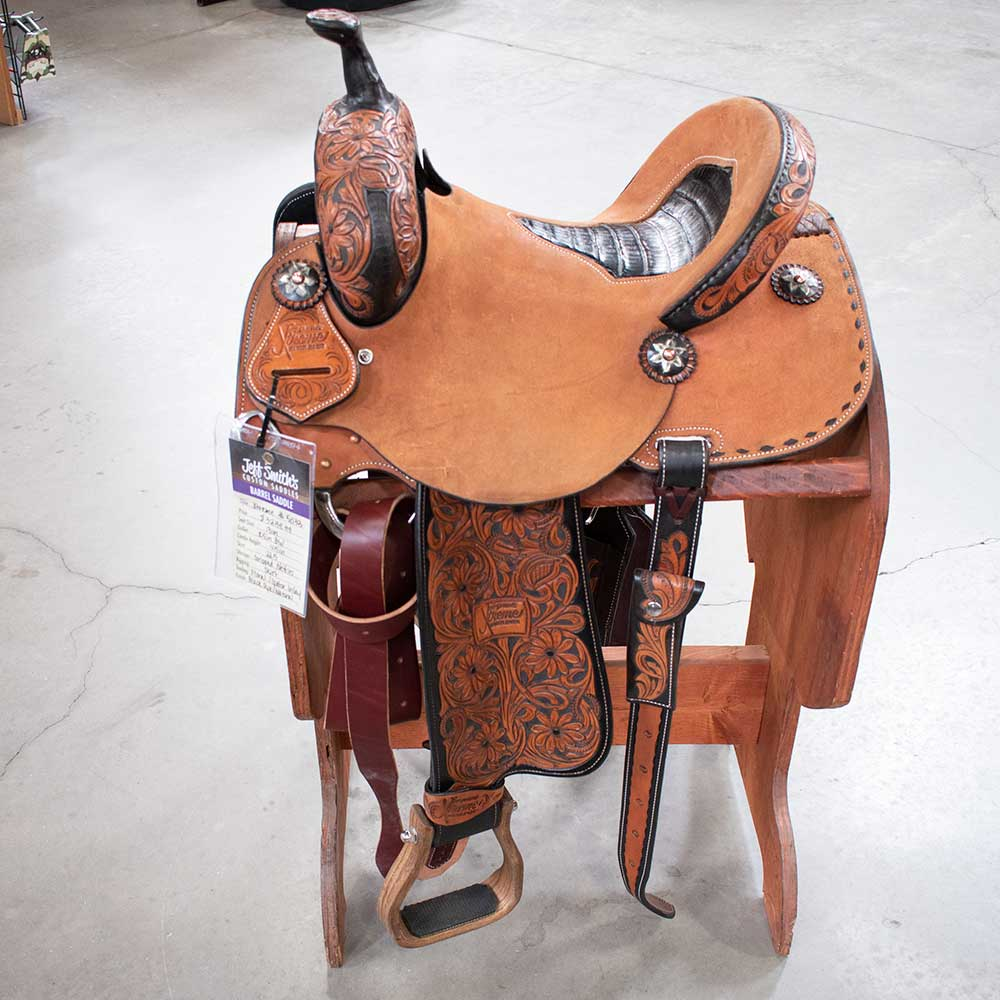 "13"" Xtreme Jeff Smith Barrel Saddle"