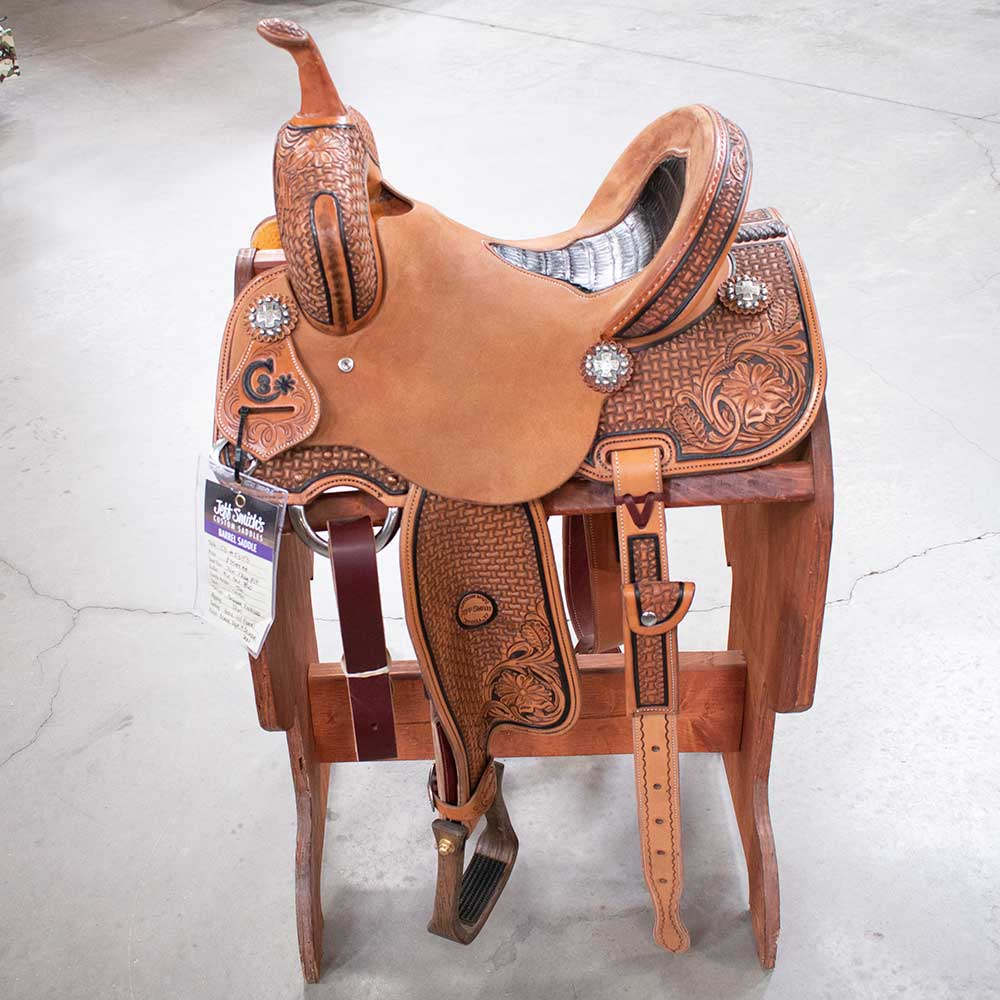 "13"" C3 Jeff Smith Barrel Saddle"