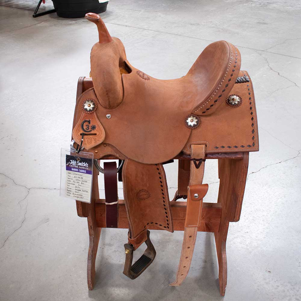 "13.5"" C3 Jeff Smith Barrel Saddle"