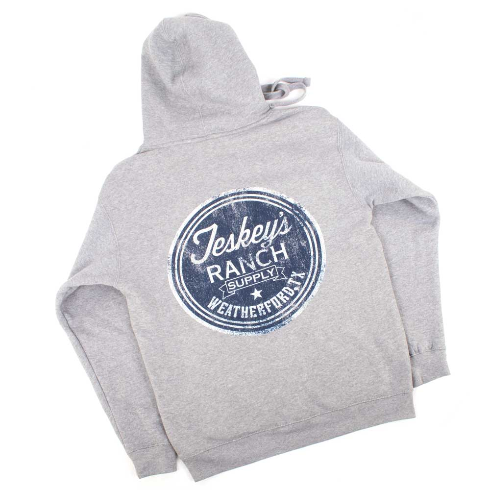 Teskey's Ranch Supply Icon Hoodie - Premium Heather TESKEY'S GEAR - Hoodies OURAY SPORTSWEAR Teskeys