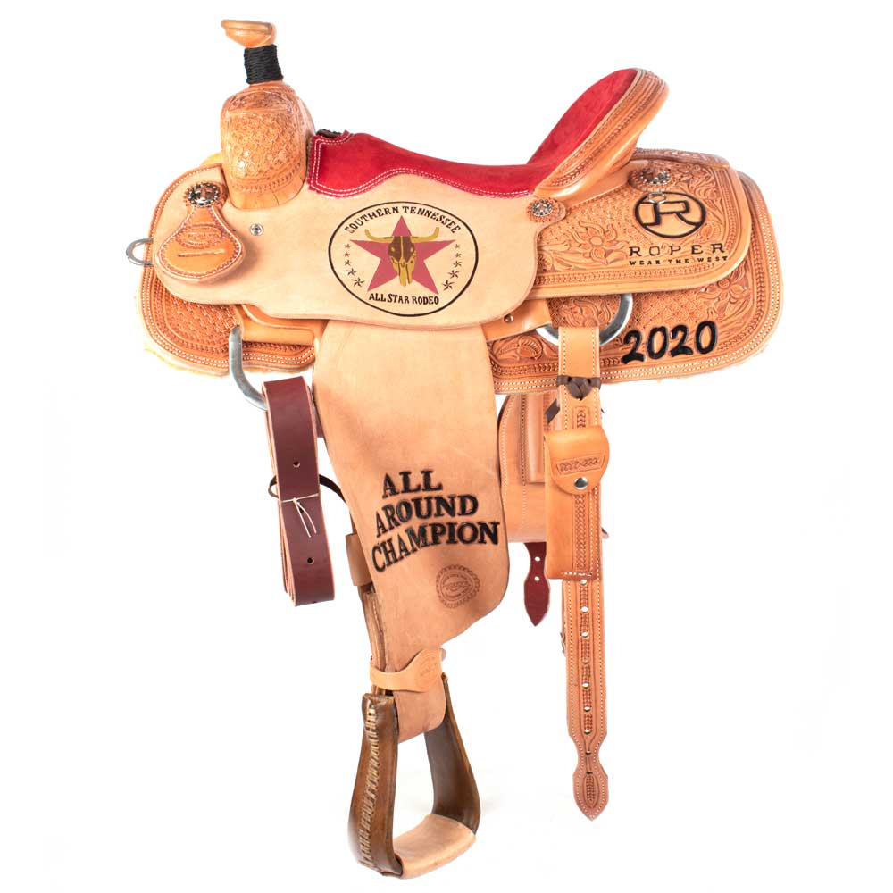 Trophy Roping Saddle #29 CUSTOMS & AWARDS - SADDLES Teskeys Teskeys