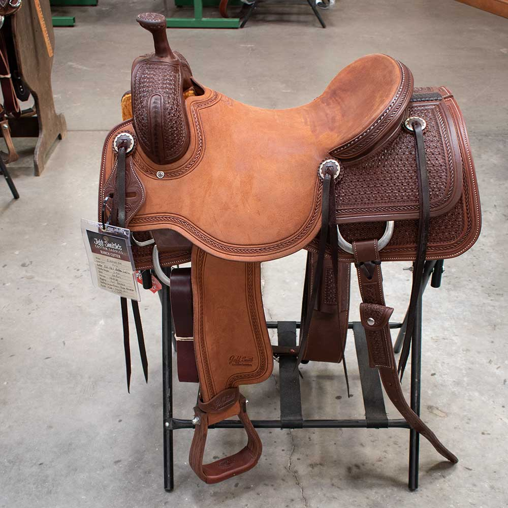"16"" JEFF SMITH RANCH CUTTING SADDLE"