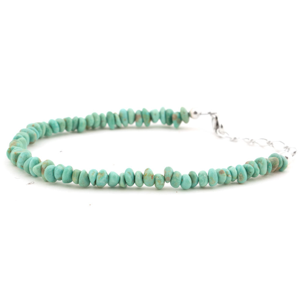 Carico Turquoise Mini Bead Bracelet WOMEN - Accessories - Jewelry - Bracelets SUNWEST SILVER Teskeys