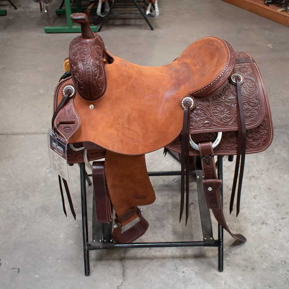 "16.5"" JEFF SMITH RANCH CUTTING SADDLE"