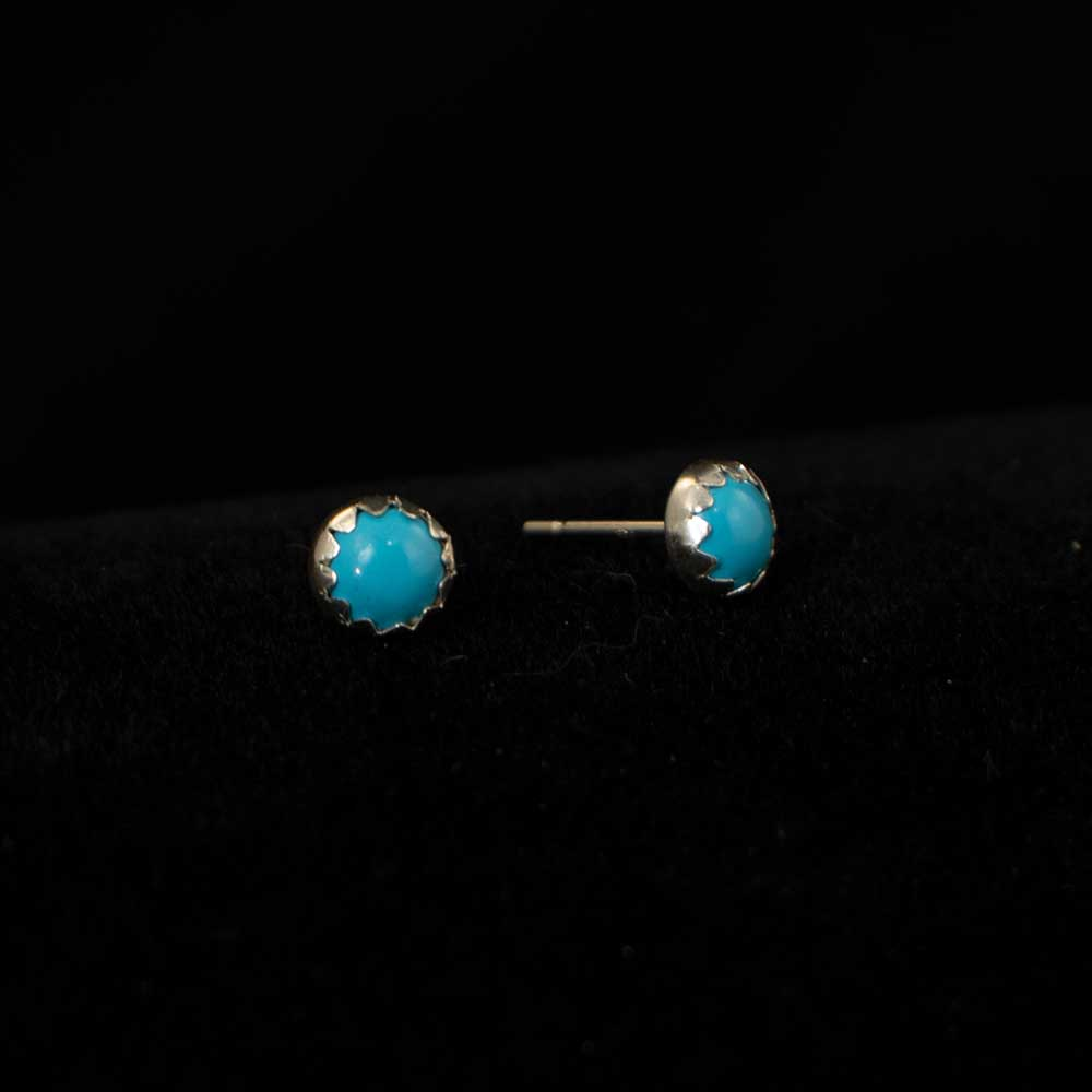 Turquoise Stud Earrings WOMEN - Accessories - Jewelry - Earrings SUNWEST SILVER Teskeys