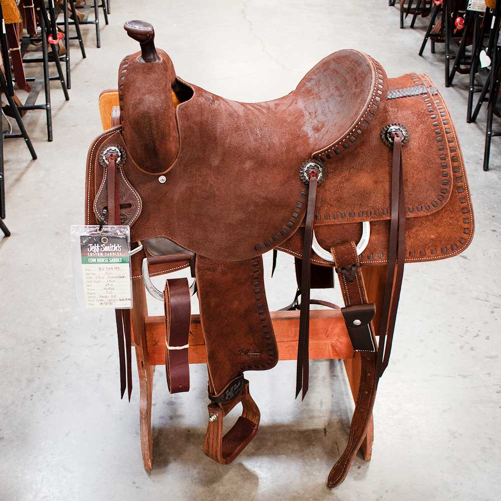 "15"" JEFF SMITH RANCH CUTTING SADDLE"