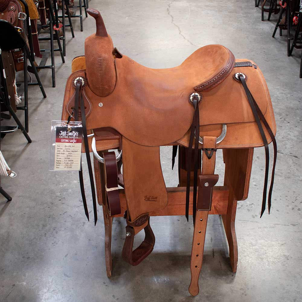 "16.5"" JEFF SMITH CUTTING SADDLE"
