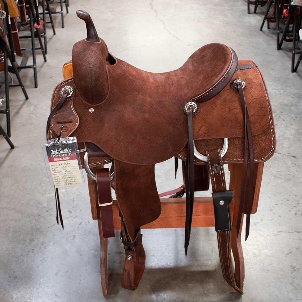 "15.5"" JEFF SMITH CUTTING SADDLE"