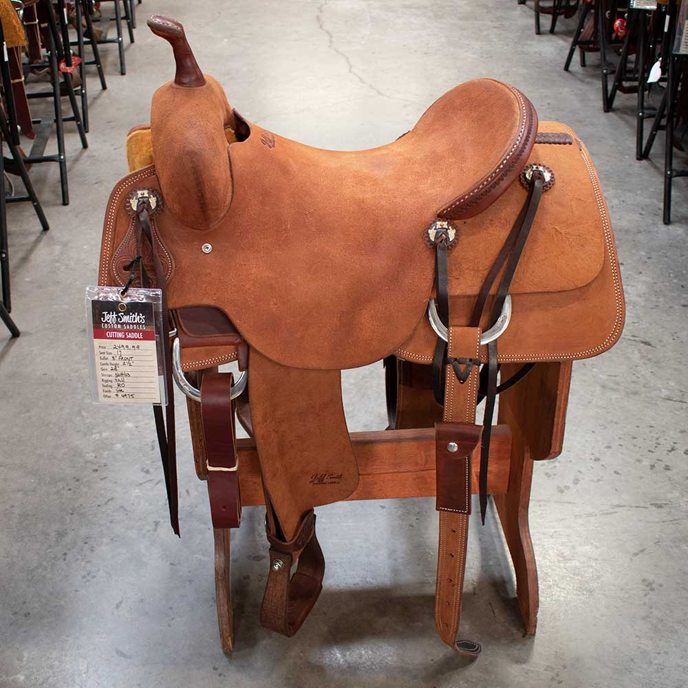 "17"" JEFF SMITH CUTTING SADDLE"