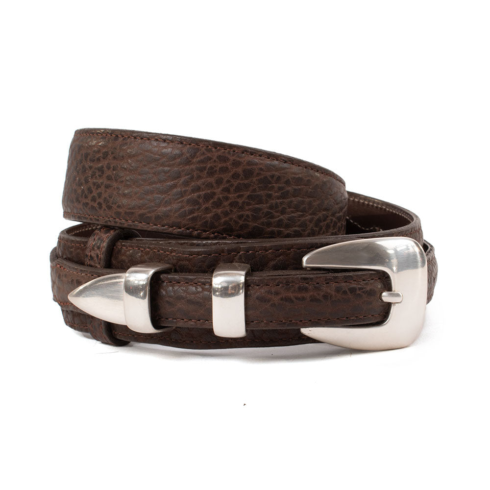 Bison Ranger Belt & Buckle MEN - Accessories - Belts & Suspenders CHACON LEATHER Teskeys