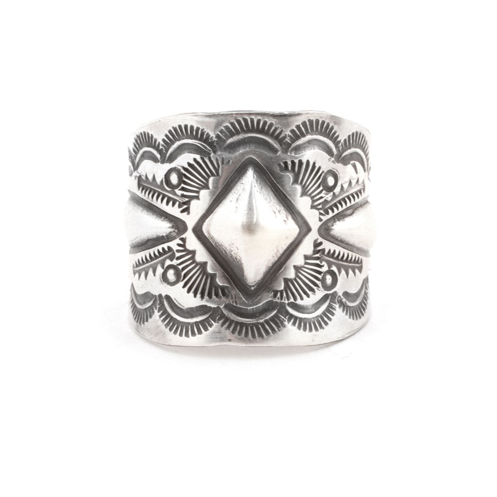 Sterling Silver Stamped Ring WOMEN - Accessories - Jewelry - Rings SUNWEST SILVER Teskeys
