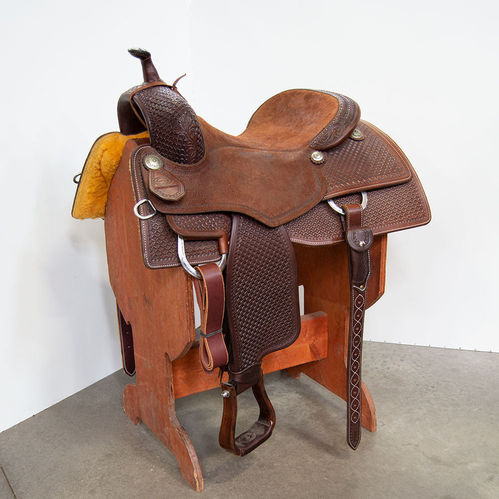 "16.5"" MARTIN SADDLERY PERFORMANCE CUTTING SADDLE Saddles - New Saddles - CUTTER Martin Saddlery Teskeys"
