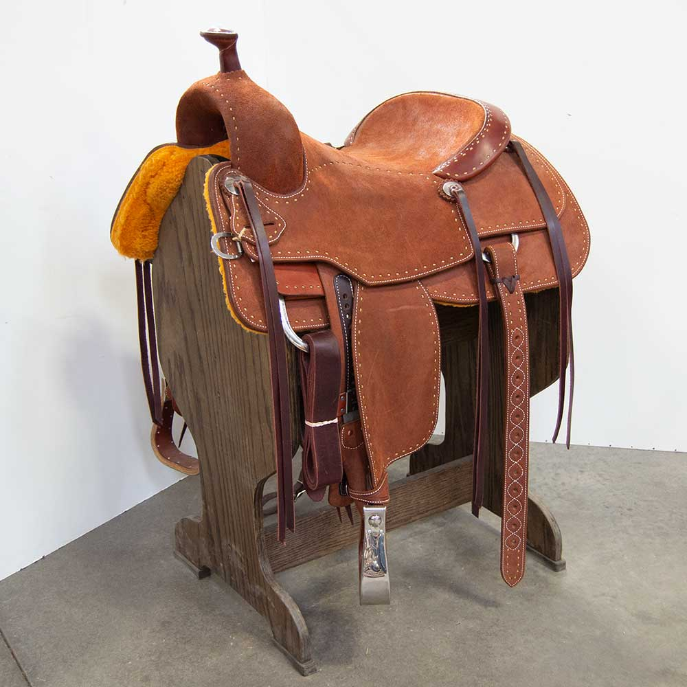 "16"" MARTIN SADDLERY PERFORMANCE SADDLE Saddles - New Saddles - ALL AROUND Martin Saddlery Teskeys"