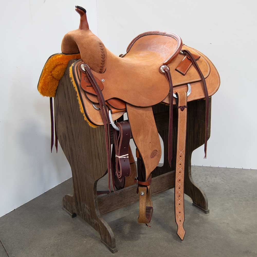"16.5"" TESKEY'S PRO CUTTING SADDLE"