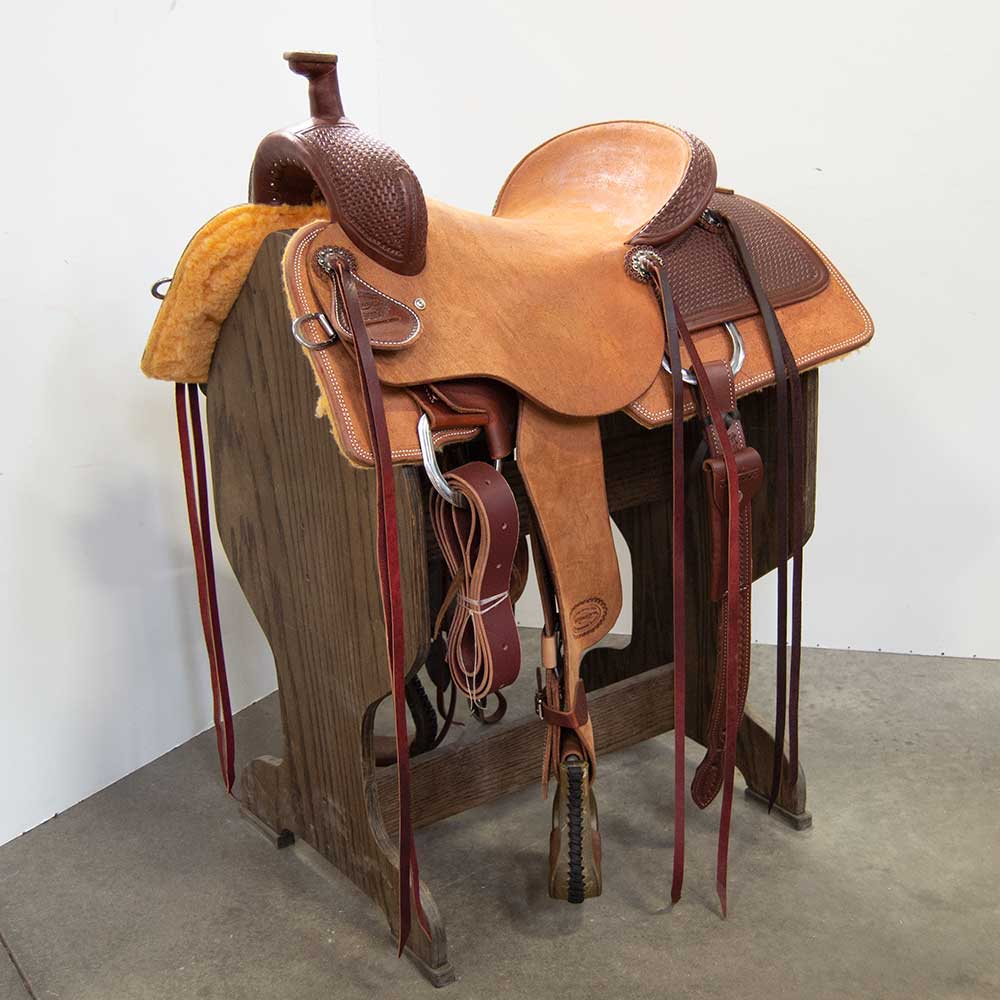 "16"" TESKEY'S RANCH SADDLE"