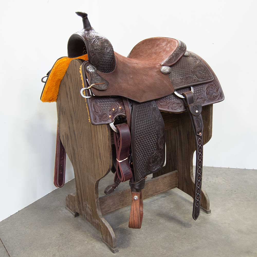 "15.5"" MARTIN SADDLERY CUTTING SADDLE"