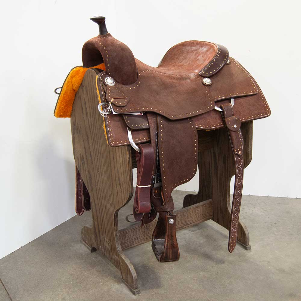 "16.5"" MARTIN SADDLERY PERFORMANCE SADDLE Saddles - New Saddles - ALL AROUND Martin Saddlery Teskeys"