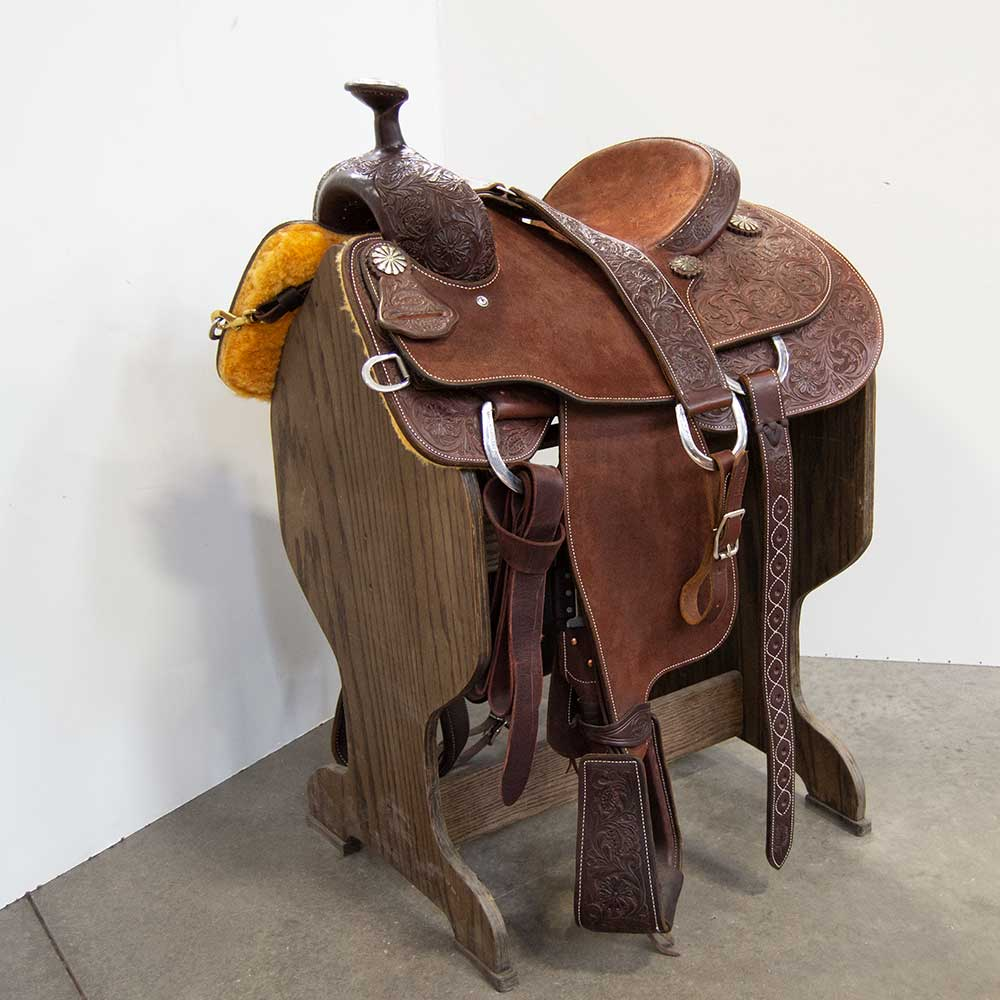 "14"" MARTIN SADDLERY ROPING SADDLE Saddles - New Saddles - ROPER Martin Saddlery Teskeys"