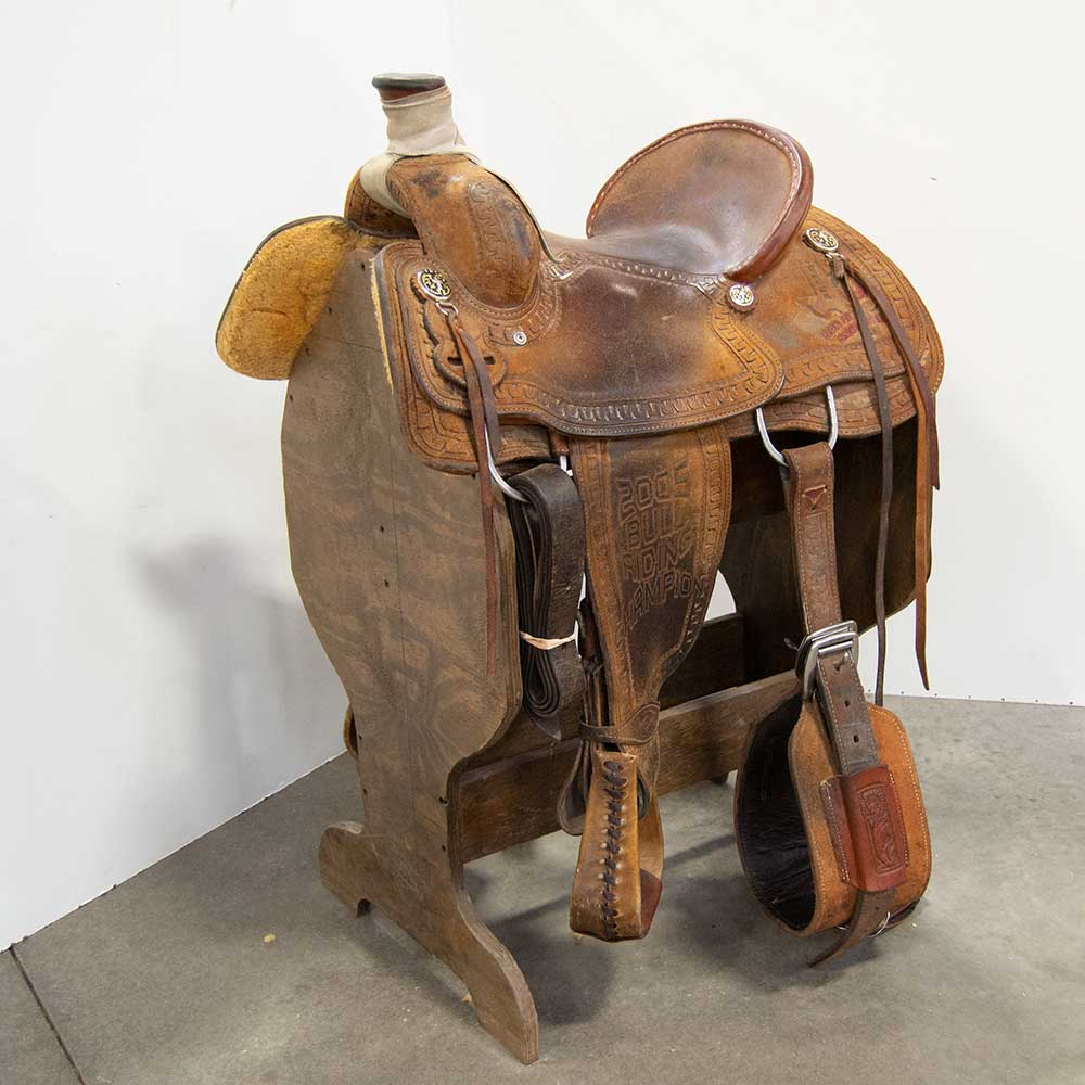 "14.5"" USED TOD SANDERS RANCH SADDLE"