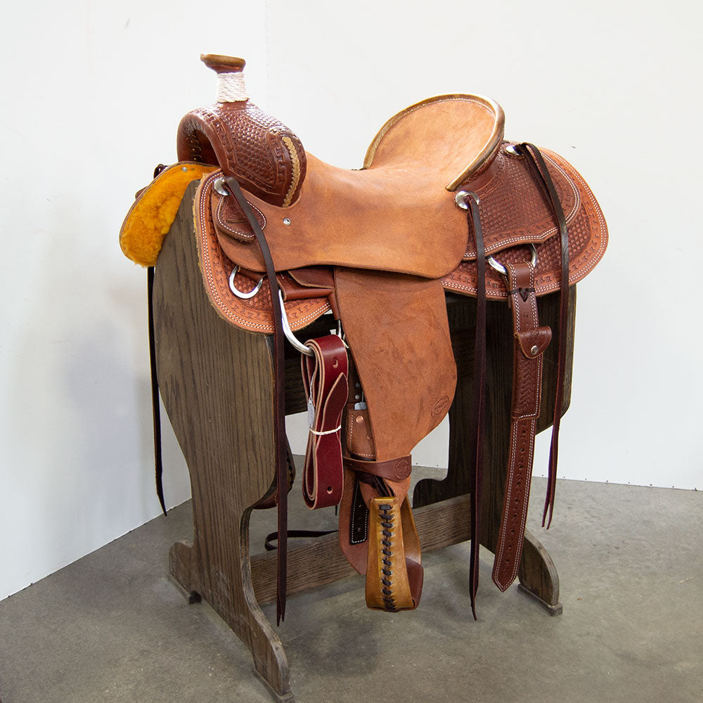 "16.5"" TESKEY'S RANCH ASSOCIATION SADDLE"