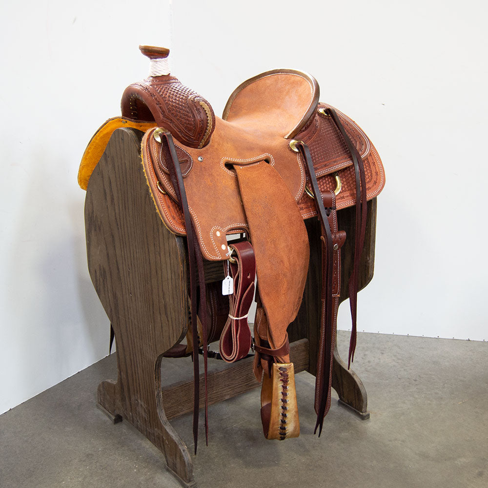 "14"" TESKEY'S SEAT RIG RANCH SADDLE"