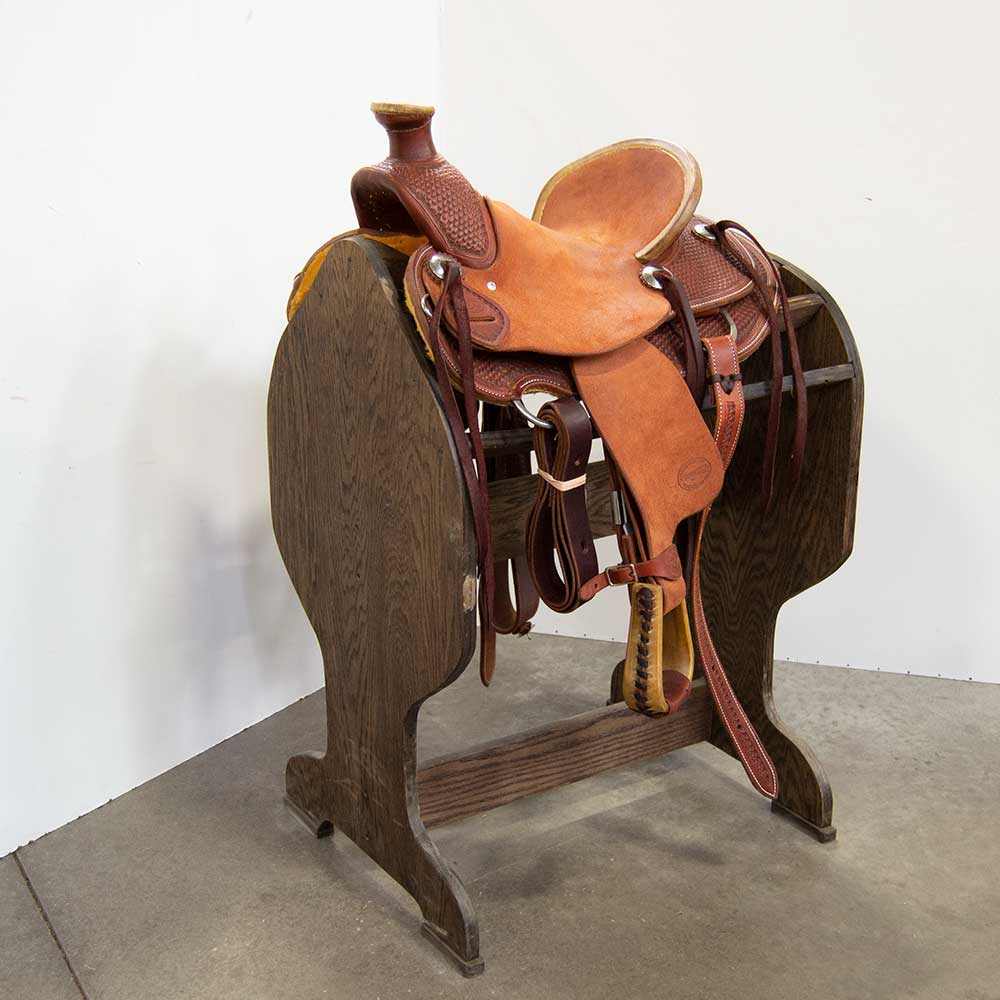 "11.5"" TESKEY'S YOUTH RANCH SADDLE Saddles - New Saddles - JR. RANCH Teskey's Teskeys"