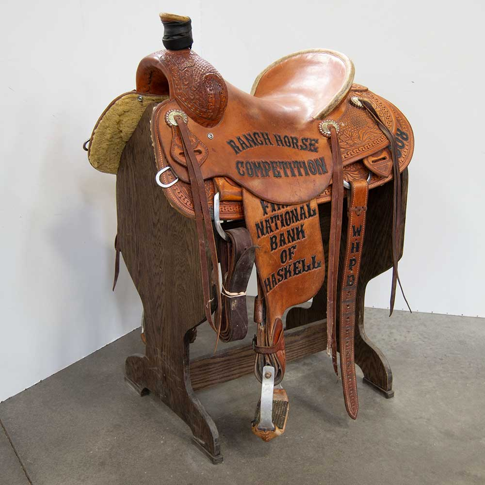 "15.5"" USED TESKEY'S RANCH SADDLE Saddles - Used Saddles - RANCH Teskey's Teskeys"