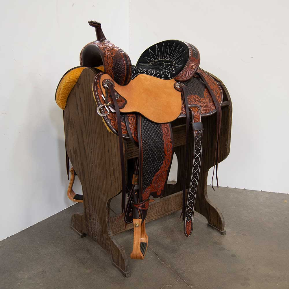 "13.5"" MARTIN SADDLERY FEARLESS BASE SADDLE Saddles - New Saddles - ALL AROUND Martin Saddlery Teskeys"