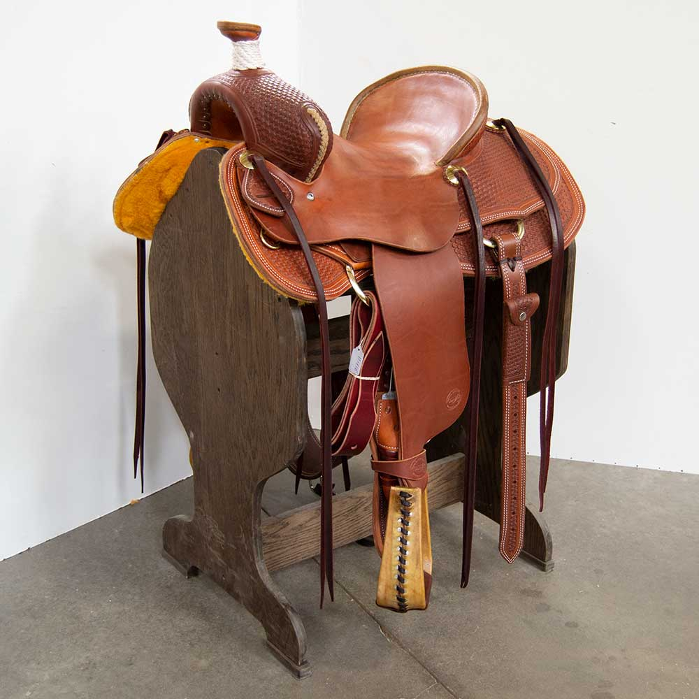 "15"" TESKEY'S MULE SADDLE Saddles - New Saddles - MULE Teskey's Teskeys"