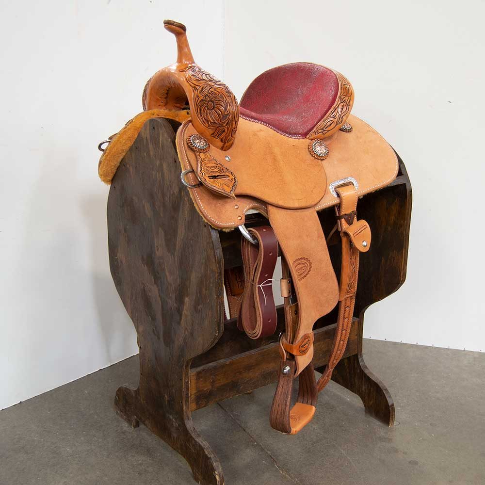 "12.5"" TESKEY'S BARREL SADDLE"