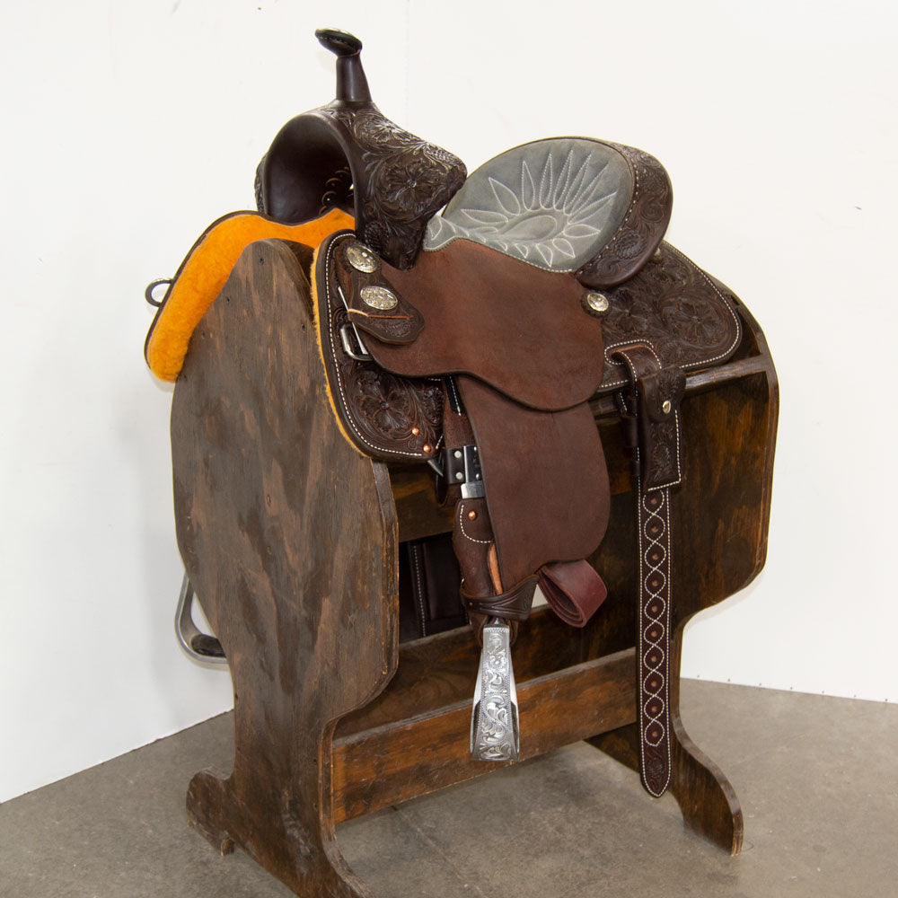 "12"" MARTIN SADDLERY 68 GUARDIAN BARREL SADDLE"