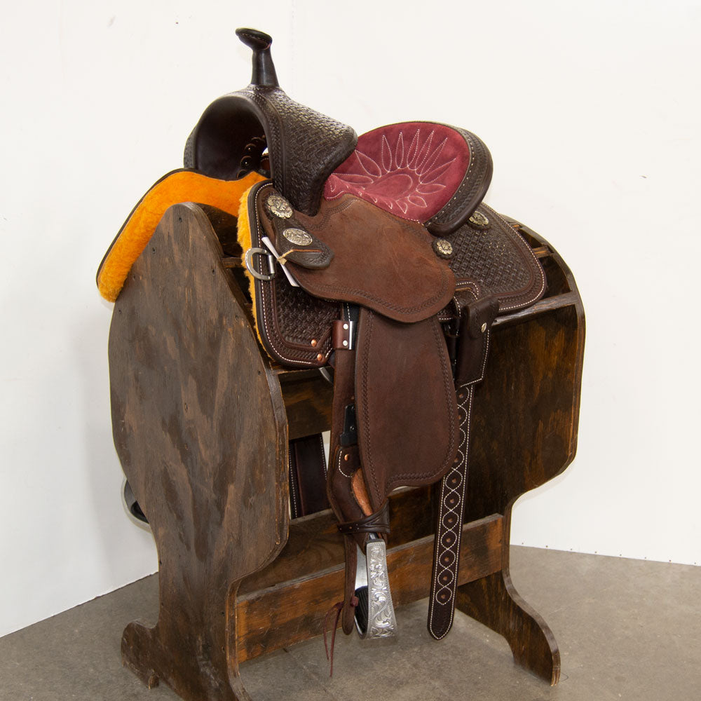 "11"" MARTIN SADDLERY 68 GUARDIAN BARREL SADDLE"