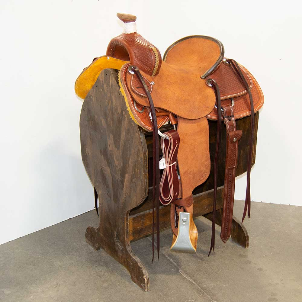 "13.5"" TESKEY'S YOUTH RANCH ASSOCIATION SADDLE"