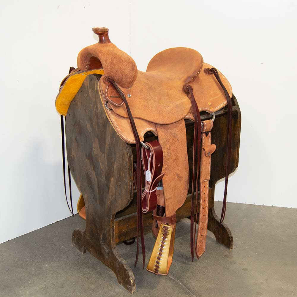 "14"" TESKEY'S RANCH SADDLE"