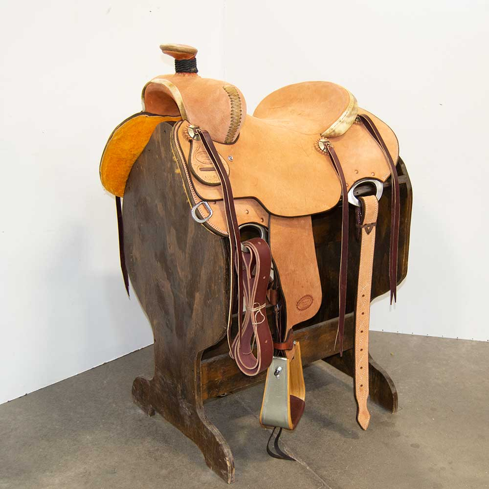 "14.5"" TRENT WARD RANCH SADDLE"