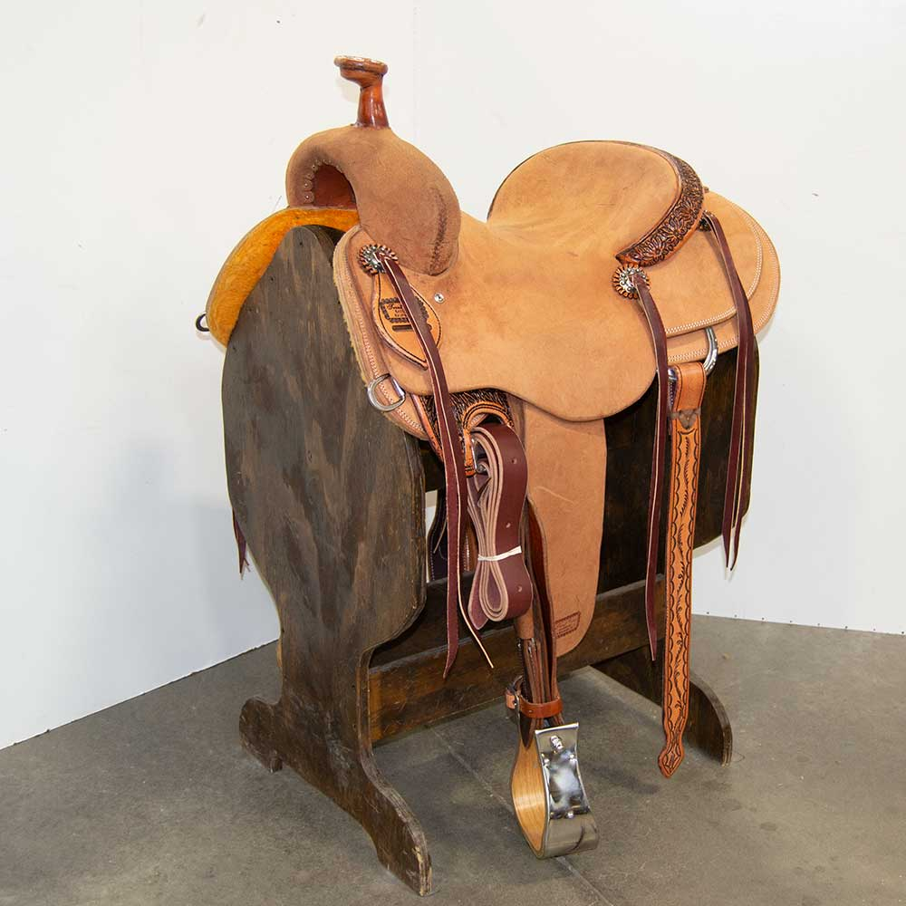 "15"" TRENT WARD RANCH CUTTING SADDLE"